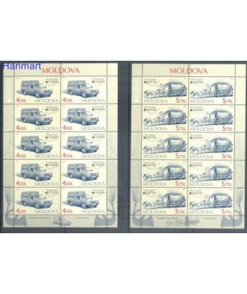 Mołdawia 2013 Mi 829-830 Czyste **
