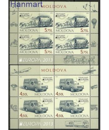 Mołdawia 2013 Mi 16-17 Czyste **