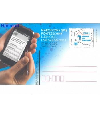 Polska 2011 Mi 1563 Karty pocztowe czyste
