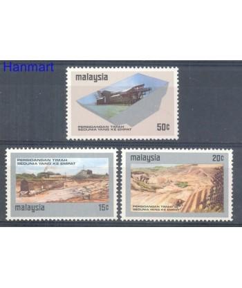 Malezja 1974 Mi 124-126 Czyste **