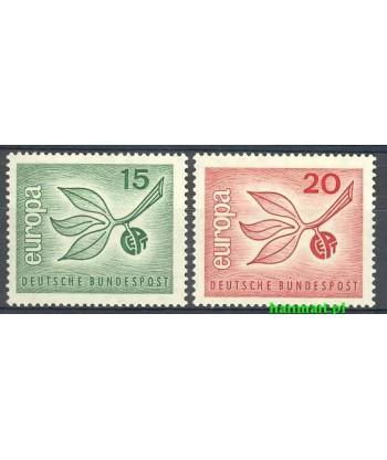 Niemcy 1965 Mi 483-484 Czyste **