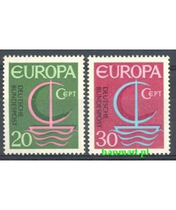 Niemcy 1966 Mi 519-520 Czyste **