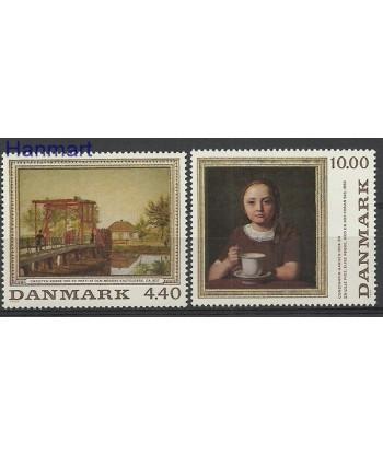 Dania 1989 Mi 961-962 Czyste **