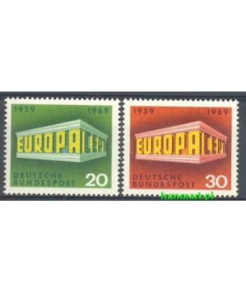 Niemcy 1969 Mi 583-584 Czyste **