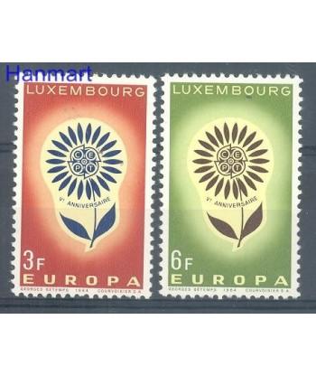 Luksemburg 1964 Mi 697-698 Czyste **