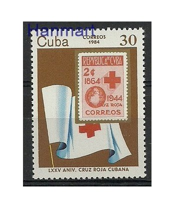 Kuba 1984 Mi 2836 Czyste **