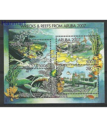 Aruba 2007 Mi bl 7 Czyste **