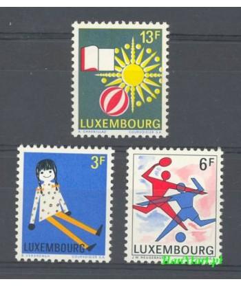 Luksemburg 1969 Mi 785-787 Czyste **