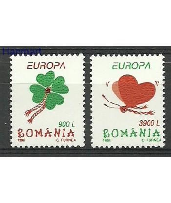 Rumunia 1998 Mi 5297-5298 Czyste **