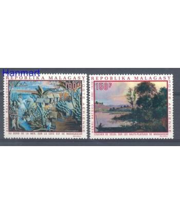 Madagaskar 1969 Mi 606-607 Czyste **