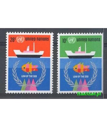 Narody Zjednoczone Nowy Jork 1974 Mi 277-278 Czyste **