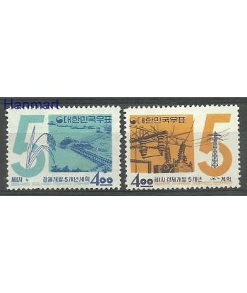 Korea Południowa 1962 Mi 369-370 Z podlepka *
