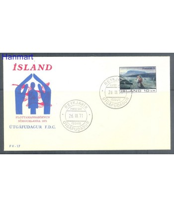 Islandia 1971 Mi  FDC