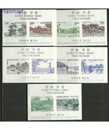Korea Południowa 1964 Mi 187-190 Z podlepka *