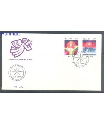 Islandia 1991 Mi 758-759 FDC
