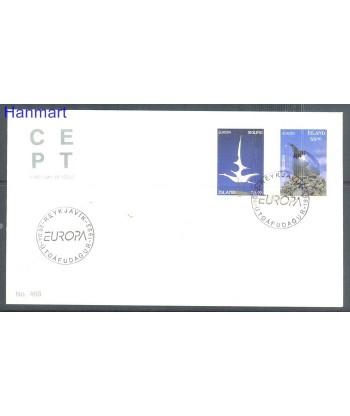 Islandia 1993 Mi 786-787 FDC