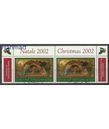 Watykan 2002 Mi par 1427 Stemplowane