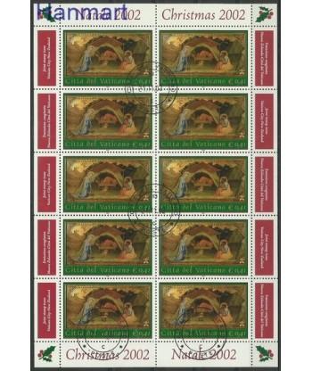 Watykan 2002 Mi ark 1427 Stemplowane