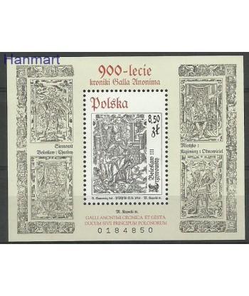 Polska 2013 Mi bl 216 Czyste **