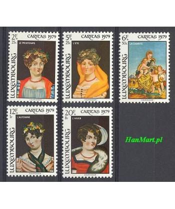 Luksemburg 1979 Mi 998-1002 Czyste **