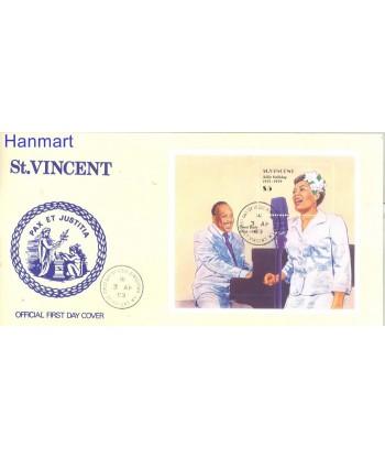 St Vincent 1989 Mi bl 67 FDC