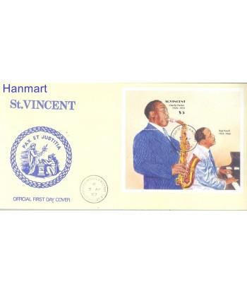 St Vincent 1989 Mi bl 66 FDC