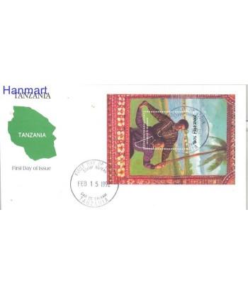 Tanzania 1992 Mi bl 169 FDC