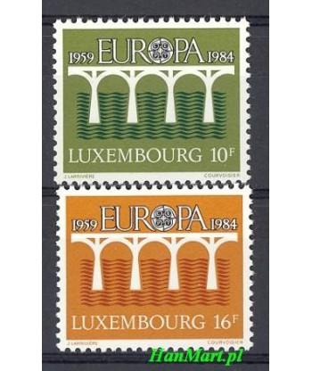 Luksemburg 1984 Mi 1098-1099 Czyste **