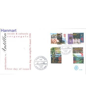 Antyle Holenderskie 1998 Mi 947-950 FDC