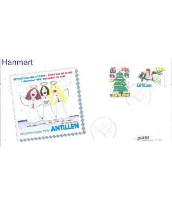 Antyle Holenderskie 1998 Mi 989-990 FDC