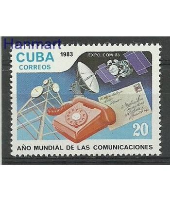 Kuba 1983 Mi 2714 Czyste **