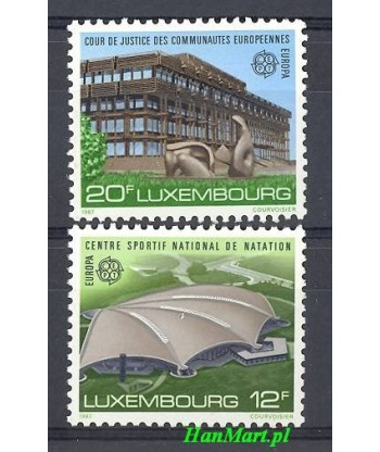 Luksemburg 1987 Mi 1174-1175 Czyste **