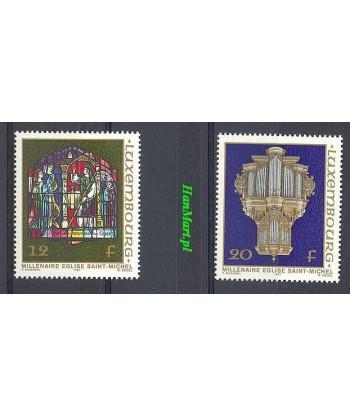 Luksemburg 1987 Mi 1176-1177 Czyste **