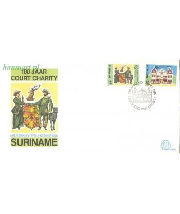 Surinam 1986 Mi 1183-1184 FDC