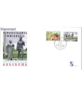 Surinam 1998 Mi 1650-1651 FDC