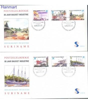 Surinam 1996 Mi 1579-1584 FDC