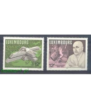 Luksemburg 1988 Mi 1207-1208 Czyste **