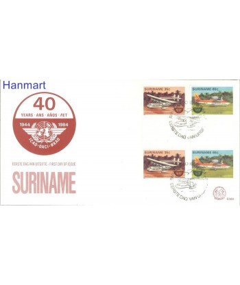 Surinam 1984 Mi  FDC