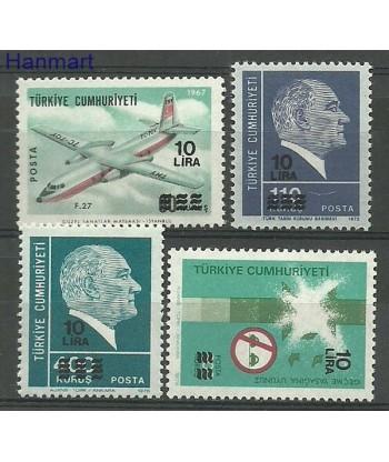 Turcja 1981 Mi 2563-2566 Czyste **