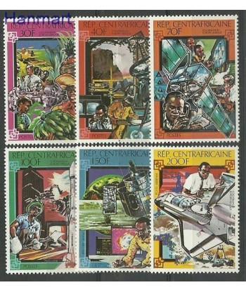 Republika Środkowoafrykańska 1980 Mi 688-693 Czyste **