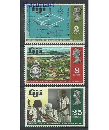 Fidżi 1969 Mi 255-257 Czyste **