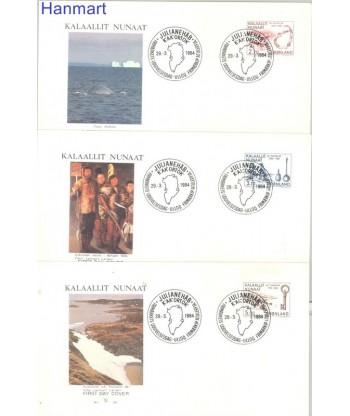 Grenlandia 1984 Mi  FDC