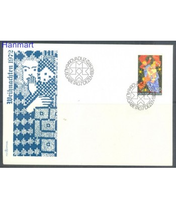 Liechtenstein 1972 Mi 578 FDC