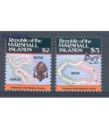 Wyspy Marshalla 1986 Mi 71-72 Czyste **