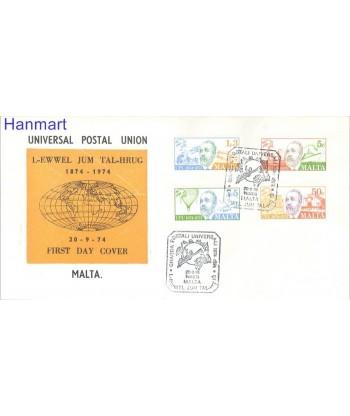 Malta 1974 Mi 497-500 FDC