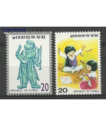 Korea Południowa 1979 Mi 1180-1181 Czyste **