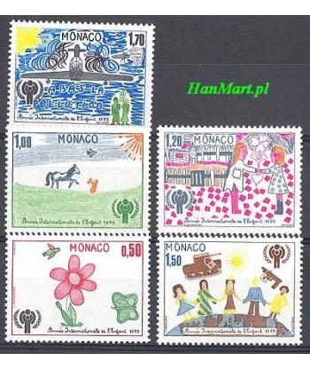 Monako 1979 Mi 1370-1374 Czyste **