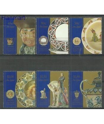 Nowa Zelandia 1993 Mi 1267-1272 Czyste **