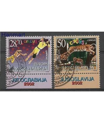 Jugosławia 2002 Mi 3076-3077 Stemplowane