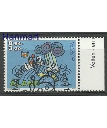 Wyspy Alandzkie 2001 Mi 191 Stemplowane